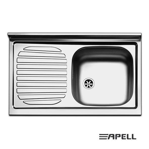 Lavello Apell Acciaio Inox 80 cm PI801LPC