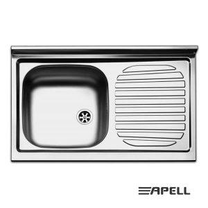 Lavello Apell Acciaio Inox 80 cm PI801RPC