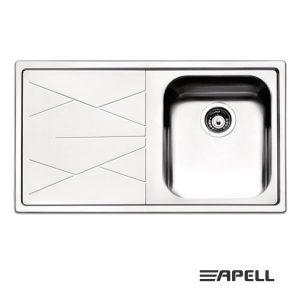 Apell Lavello 1 Vasca DX NR861ILBC