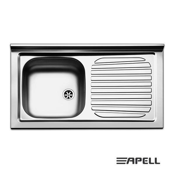 Lavello Apell Acciaio Inox 90 cm PI901RPC