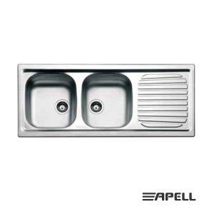 Apell Lavello 2 Vasche Serie Firenze FI1162