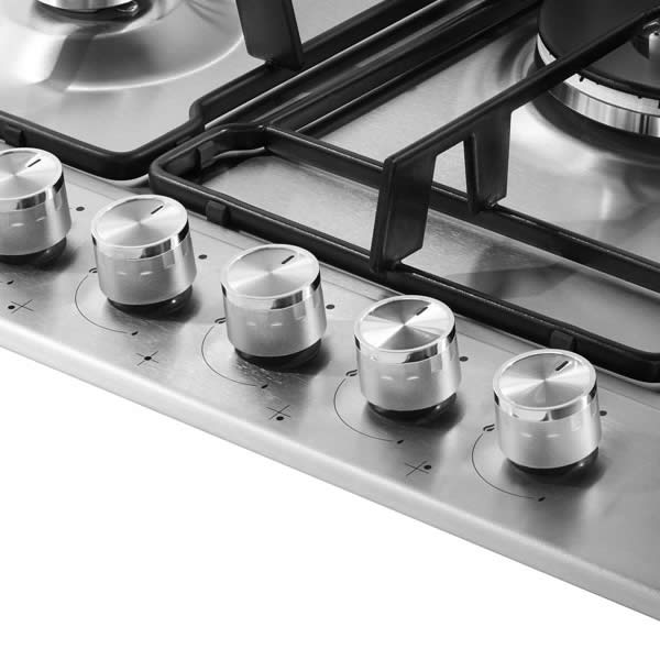 Piano Cottura Gas Inox Beko HIAL75225SX 75 cm - UniPrice ...