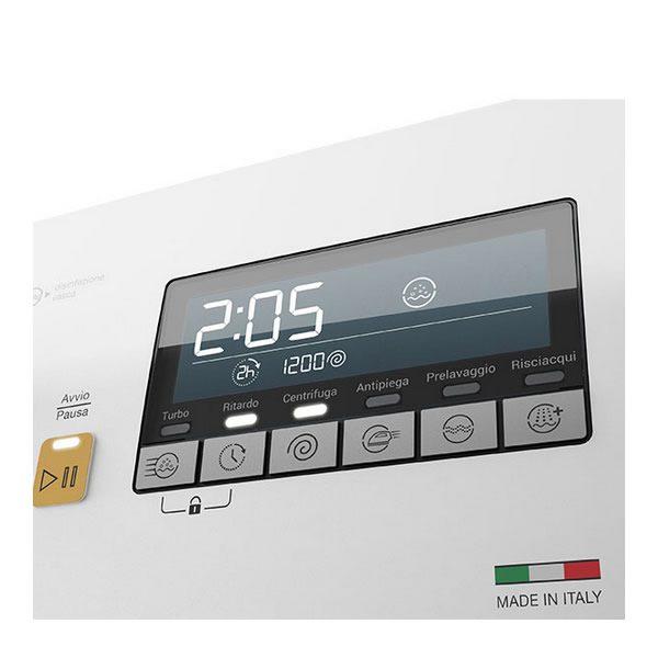 Lavatrice Bompani Carica dall'Alto 8 Kg BOCA814E Display LCD Touch