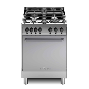 Cucina Gas Bompani BC613GA/N Inox 60x60