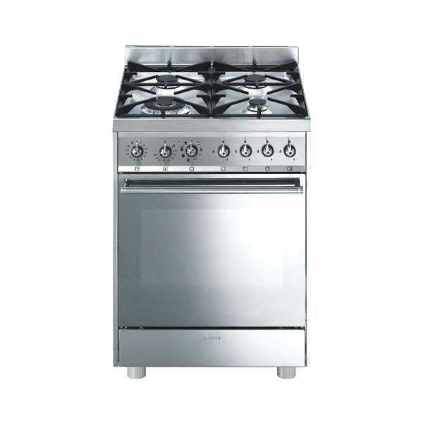 Cucina Gas Forno Multifunzione Smeg C6GMXI8-2 Inox - UniPrice