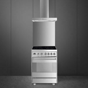 Cucina Gas Forno Termoventilato Smeg C9GMXI9 90 cm Inox - UniPrice