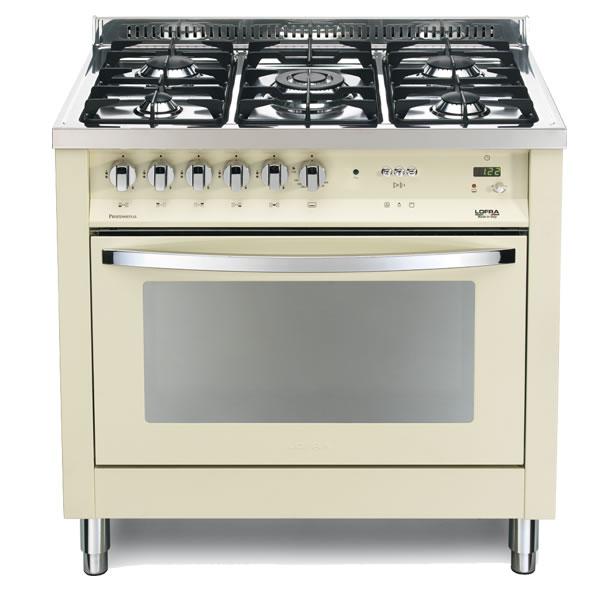 Cucina Lofra Avorio PIBG96GVT/C Forno Gas Piano 5 Fuochi