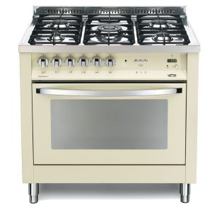 Cucina Lofra Avorio PBIG96MFT/C Forno Multifunzione Piano 5 Fuochi