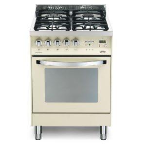 Cucina Lofra Avorio PNI66GVT/C Forno Gas Piano 4 Fuochi