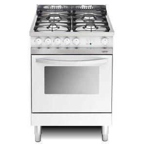 Cucina Lofra Maxima 60 Bianca MB66MF Forno Multifunzione Piano 4 Fuochi