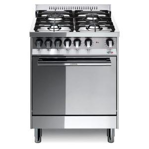 Cucina Lofra Maxima 60 Inox M66GV/C Forno Gas Piano 4 Fuochi