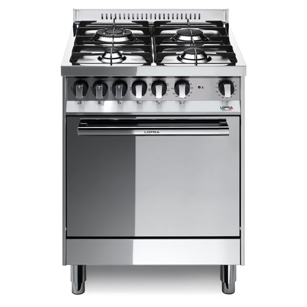 Cucina Gas Lofra Maxima 60 Inox M66MF-C Forno Multifunzione - UniPrice