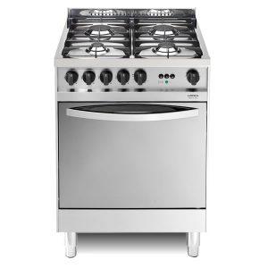 Cucina Gas Lofra Maxima 60 Inox X66MF Forno Gas