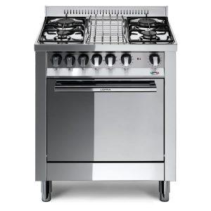 Cucina Lofra Maxima 70 Inox M75GV Forno Gas