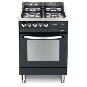 Cucina Lofra Nero Matt PNM66GVT/C Forno Gas Piano 4 Fuochi