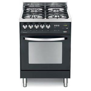Cucina Lofra Nero Matt PNM66MFT/C Forno Multifunzione Piano 4 Fuochi