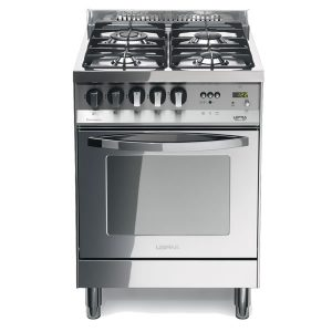 Cucina Lofra Total Inox PL66MFT/C Forno Multifunzione Piano 4 Fuochi