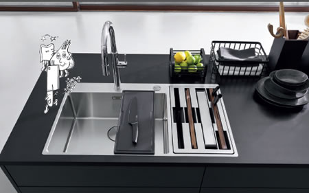 UniPrice Design in Cucina Franke Box Center