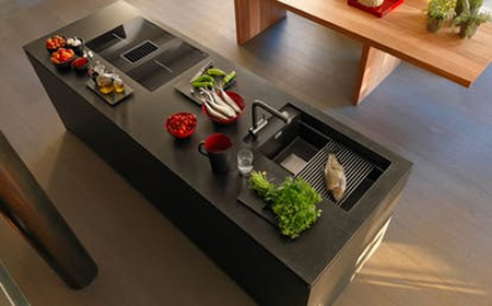 UniPrice Design in Cucina Franke Mythos