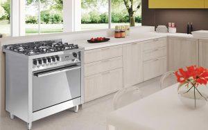 Cucina Lofra Maxima 60 Inox PL66MFT 4I Forno Multifunzione Piano Induzione