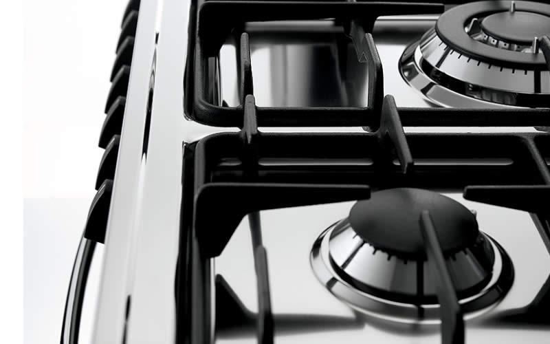 Scopri Cucine Lofra Piano Cottura Acciaio