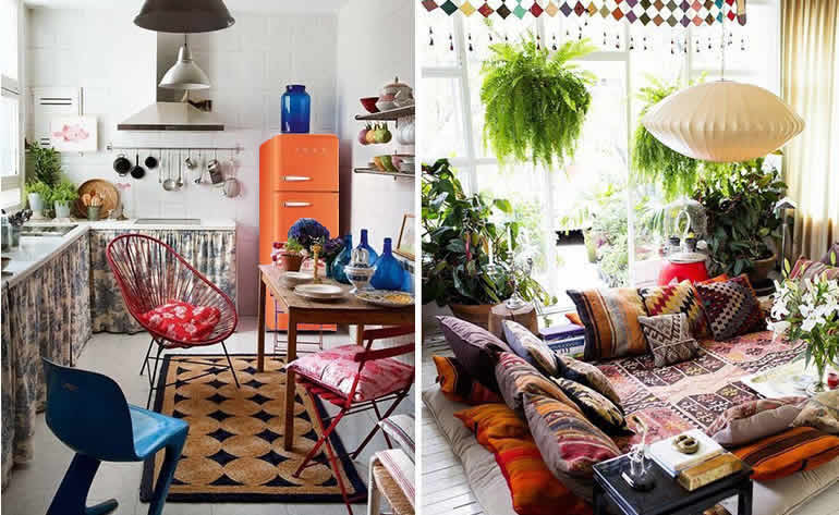 Arredamento Boho Style : Key outdoor design trends to decorate the garden with style