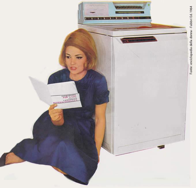 Il Ritorno delle Lavatrici Meccaniche Lavatrice Anni 60