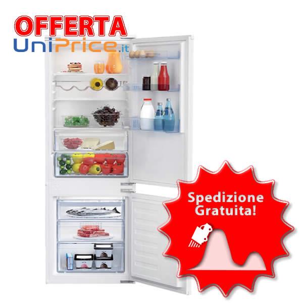 Offerta Frigorigero Incasso Beko BCHA275E3S Combinato No Frost
