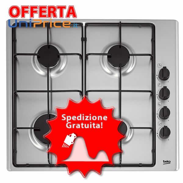 Offerta della Settimana Piano Cottura Gas Beko HIZG64120SX - UniPrice