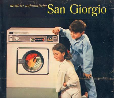 Lavatrici Automatiche Sangiorgio Pubblicita Anni 70