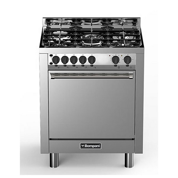 Cucina forno a gas ventilato bompani bo773ga n uniprice - Cucina forno a gas ...