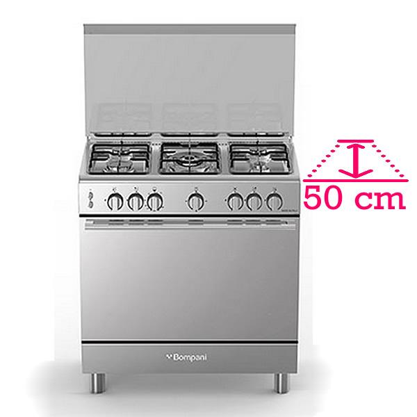 Una Cucina per il Cucinino Cucina Bompani BO853EG-N