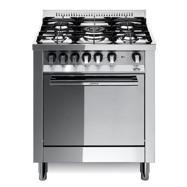 Cucina Forno Gas Lofra M76GV-C Inox Lucido