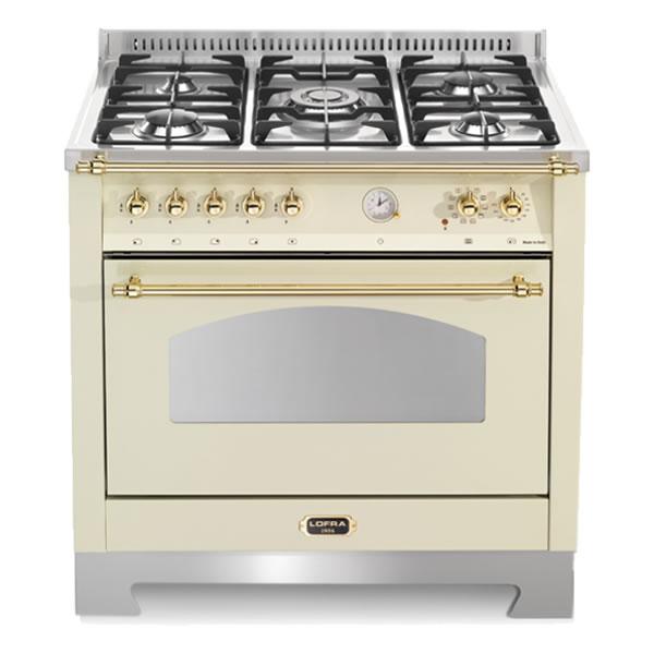 Cucina Gas Forno Elettrico Lofra RBIG96MFT-CI Avorio