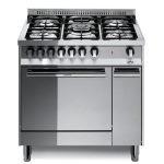 Cucina 80×60 Vano Laterale Forno Gas Ventilato Lofra MT86GV/C Inox