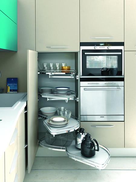 Una Cucina per il Cucinino Mobili Salva-Spazio