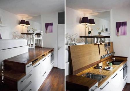Una Cucina per il Cucinino Soluzioni Estreme ma Efficaci