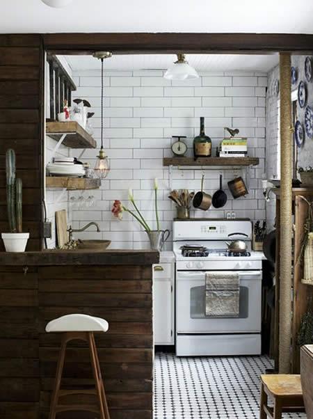 Una Cucina per il Cucinino Stile Creativo