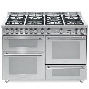 Cucina Triplo Forno Elettrico Lofra P126SMFE-MF-2CI