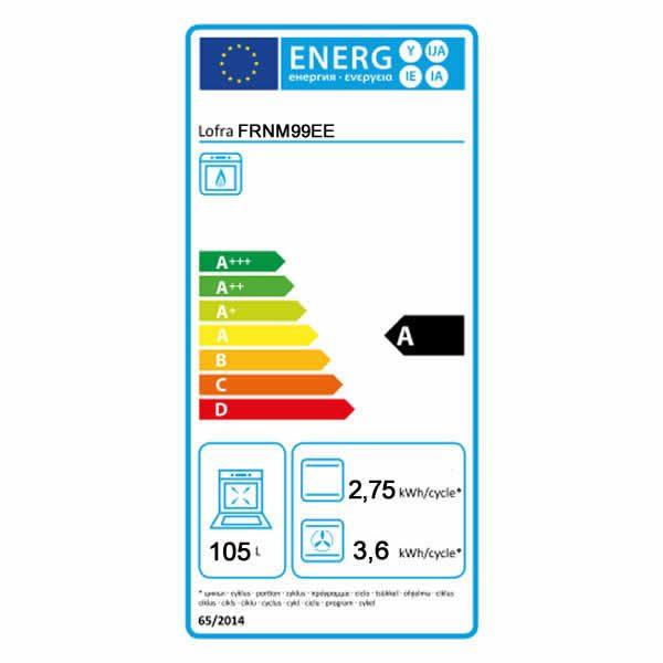 Forno Elettrico Multifunzione Lofra FRNM99EE Etichetta Energetica