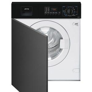 Lavatrice Smeg Incasso Frontalino a Vista Nero LBA10N-2