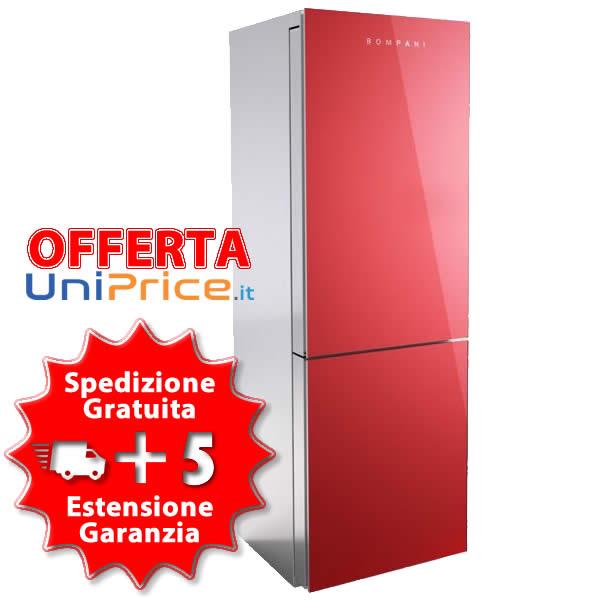 Offerta Frigorifero Combinato Bompani BOK32NF-R Rosso - UP