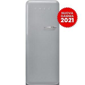 frigorifero monoporta anni-50 smeg FAB28LSV5 silver 2021