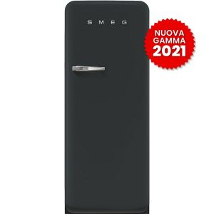 frigorifero monoporta anni-50 smeg FAB28RDBLV5 black velvet 2021