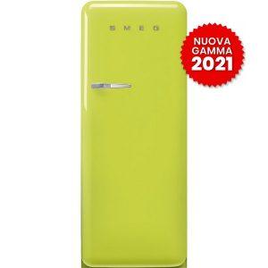 frigorifero monoporta anni-50-smeg-FAB28RLI5 verde lime 2021