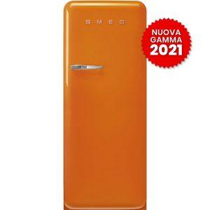 frigorifero monoporta anni-50smeg FAB28ROR5 arancione 2021