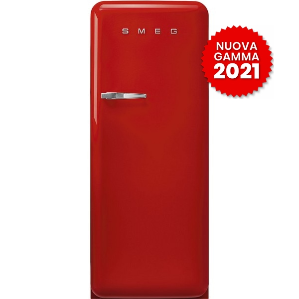 frigorifero monoporta anni50 smeg FAB28RRD5 rosso 2021
