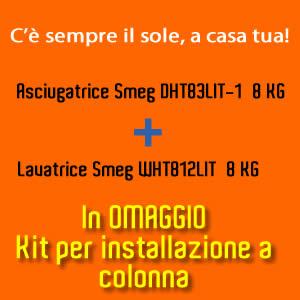Asciugatrice Smeg 8 kg DHT83LIT-1