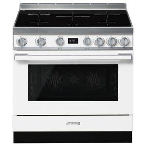 Cucina Elettrica Piano Induzione Smeg CPF9IPWH 90 cm Bianco