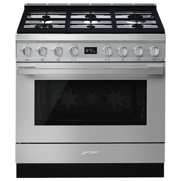 Cucina Smeg CPF9GPX 90cm Inox Forno Elettrico - UniPrice